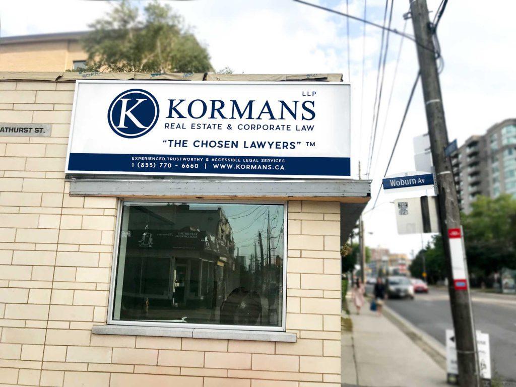 Kormans LLP Toronto Office